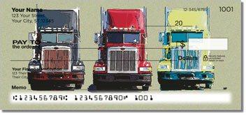 Semi Truck Personalized Checks