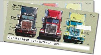 Semi Truck Side Tear Personalized Checks