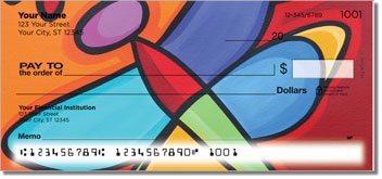 The Outdoors Personalized Checks