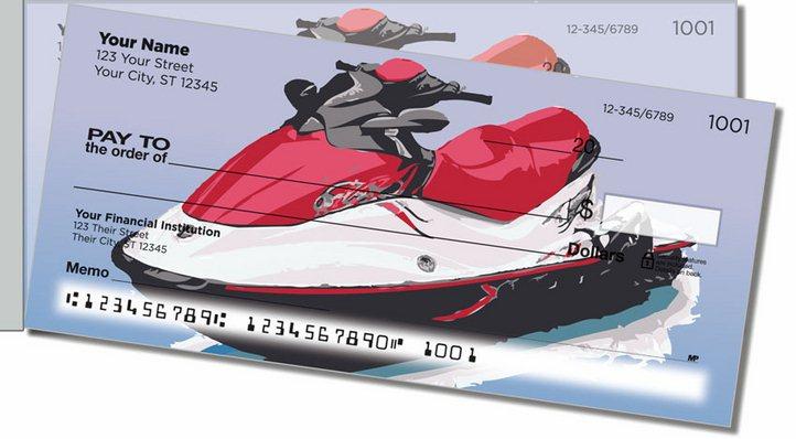 Wave Rider Side Tear Personal Checks