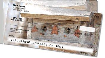 Wooden Birdhouse Side Tear Checks
