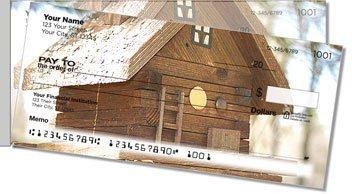 Wooden Birdhouse Side Tear Personalized Checks