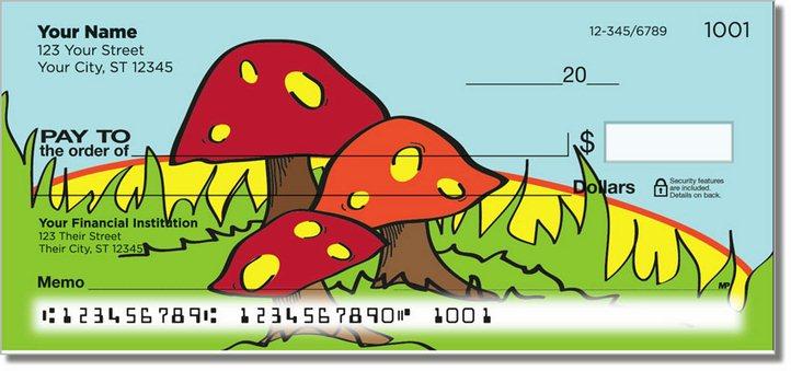 Woodland Toadstool Personal Checks