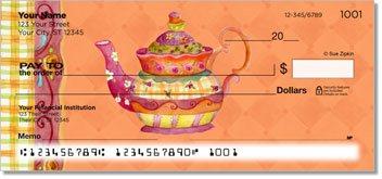 Zipkin Tea Personalized Checks