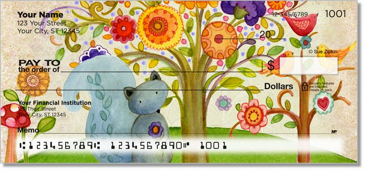 Zipkin Tree of Life 2 Personal Checks