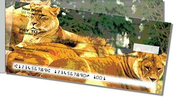 Zoo Animal Side Tear Design Checks