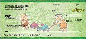 The Flintstones Personalized Checks