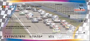 NASCAR Collections Personal Checks