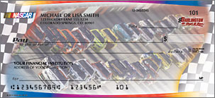 NASCAR Collections Personalized Checks