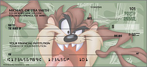 Taz Personalized Checks