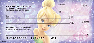 Tinker Bell Personal Checks