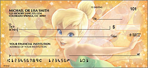 Tinker Bell Personalized Checks