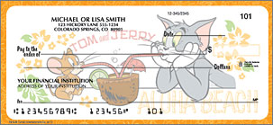 Tom and Jerry Personal Checks