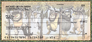 Where the Wild Things Are Personalized Checks