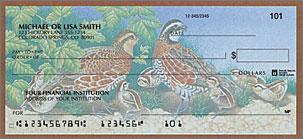Wildlife Adventure Personalized Checks