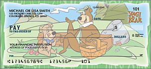 Yogi Bear Checks Personal Checks