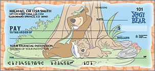 Yogi Bear Checks Personalized Checks